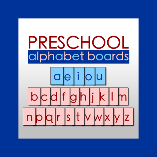Preschool Alphabet Boards
