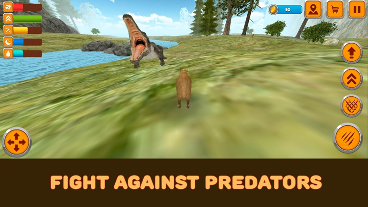 Capybara Wild Life Simulator 3D