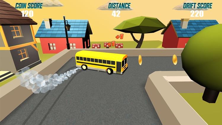 Drift Legends: School bus, Real Car Drifting