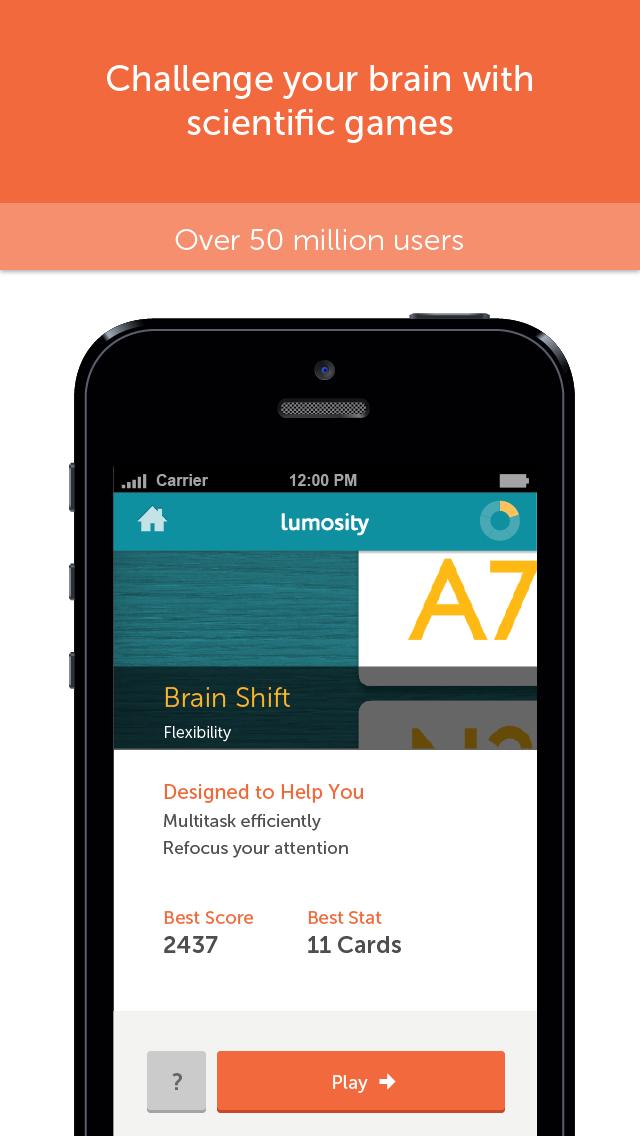 Screenshot for Lumosity - Zihin Jimnastiği in Turkey App Store