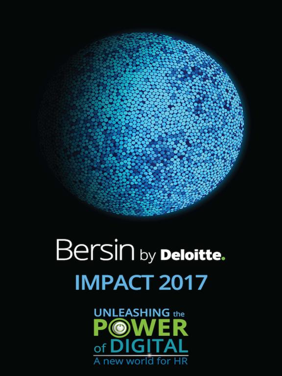 Bersin by Deloitte IMPACT 2017 screenshot 4