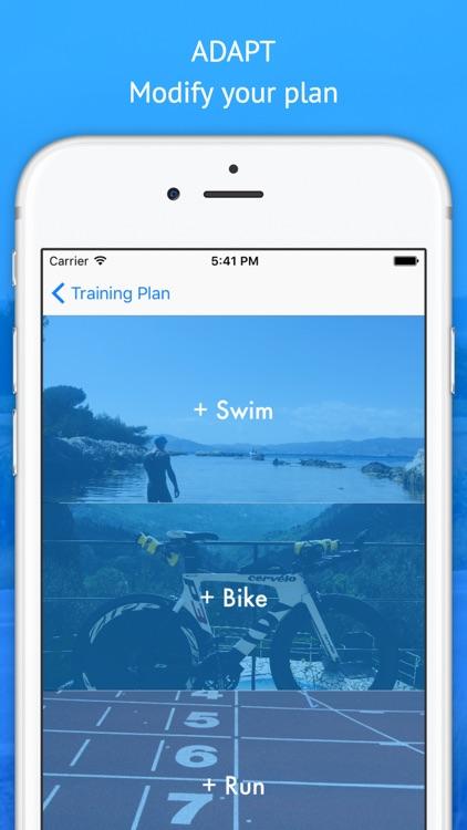 MyTriathlonBuddy Swim,Bike,Run screenshot-4