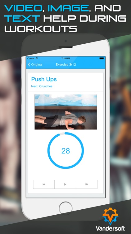 HIIT Workout - 7 Minute High Intensity Intervals