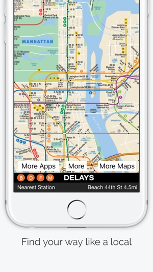 New York City Subway Map on the App Store