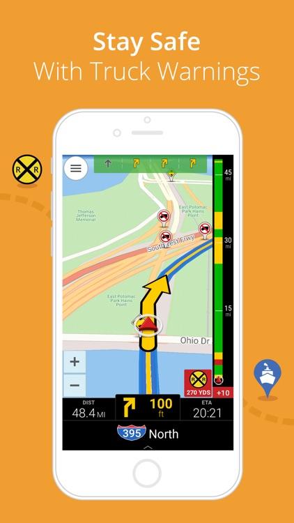 CoPilot Truck USA & Canada - GPS Navigation screenshot-3
