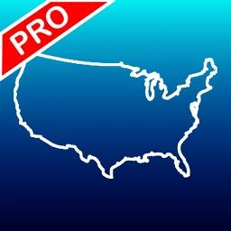 Aqua Map USA Pro - GPS Offline Nautical Charts