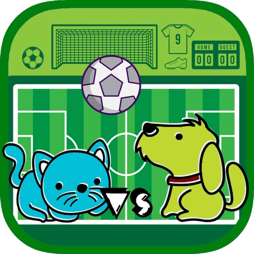 Cats vs Dogs Soccer Game