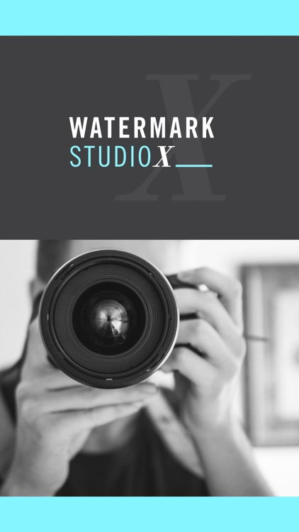 Watermark Studio X - Copyright & Trademark Photos screenshot-0