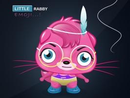 Rabby Cartoon emoji stickers for iMessage