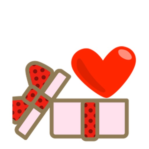 Animated Sweet Heart Heartmoji Sticker icon