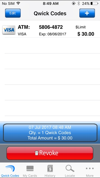 Qwick Codes Mobile Wallet screenshot-3