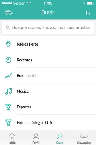 TuneIn Pro - Radio & Sports screenshot 2