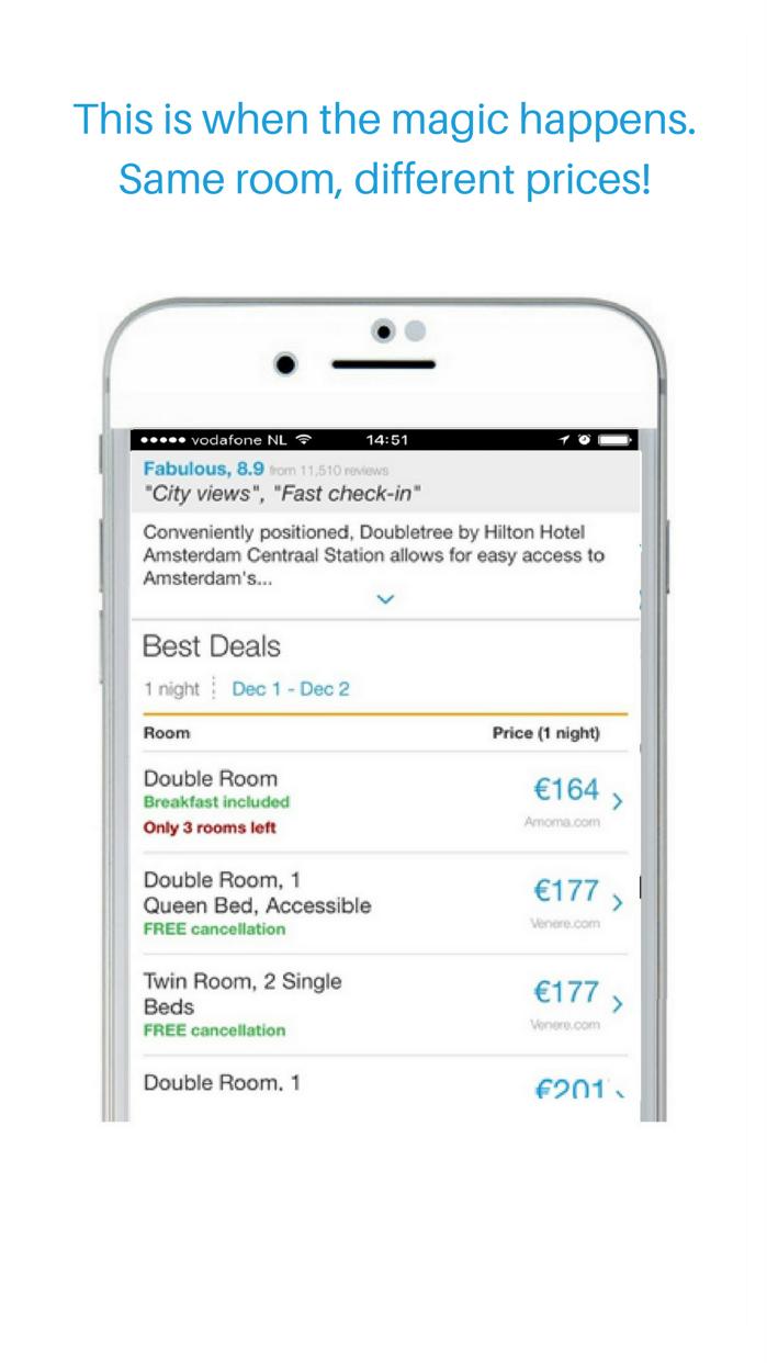 Hotels -80% : BestHotelOffers Screenshot