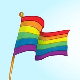 Pride Day Stickers – LGBT Love Wins