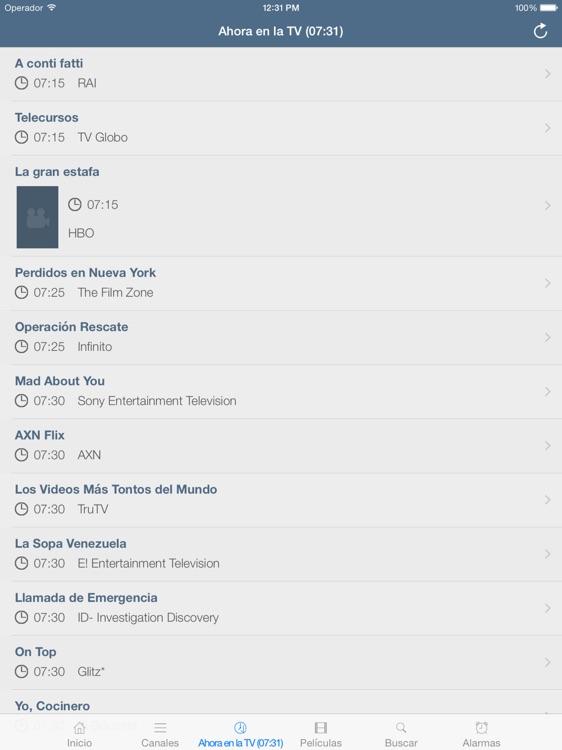 Televisión de Chile (versión iPad) screenshot-3