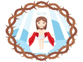 34 all new high quality and tasteful stickers of Jesus Christ