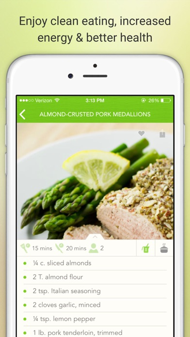 Eat Paleo - Delicious Paleo Diet Recipes and Meals Screenshot