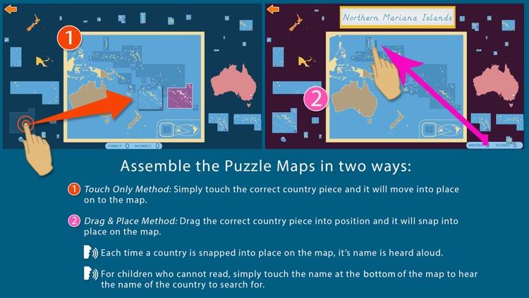 Oceania - Montessori Geography for Preschool & Up screenshot-3