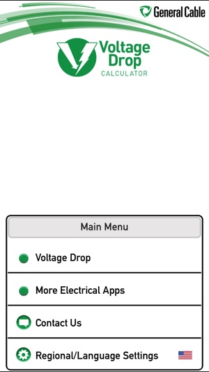 General cable voltage drop calculator on the app store screenshots greentooth Gallery