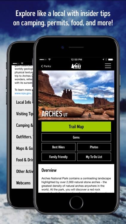 REI Co-op National Parks Guide screenshot-4
