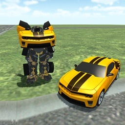 Robot Car Extreme Epic Multiplayer Simulator Game