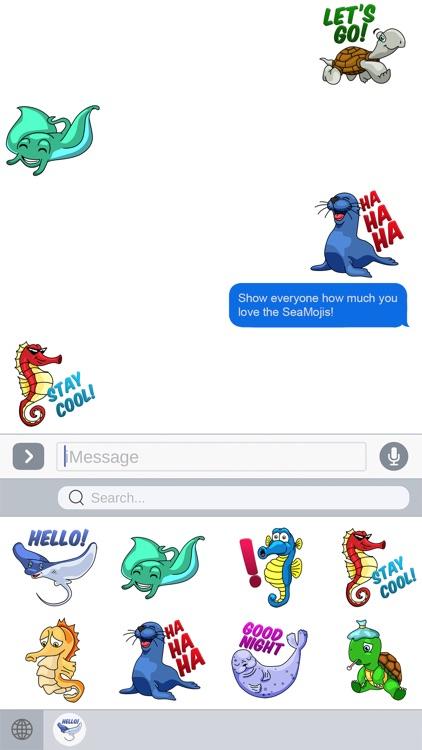 Seamoji - Sea Animal Emojis