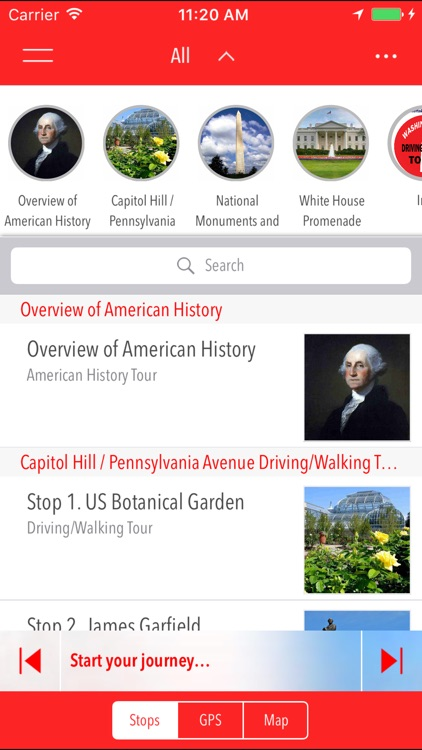 D.C. Driving/Walking Tours screenshot-1