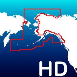 Aqua Map Alaska - GPS Offline Nautical Charts