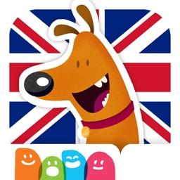 Aprender inglés con los animales: Libro interactivo para practicar vocabulario