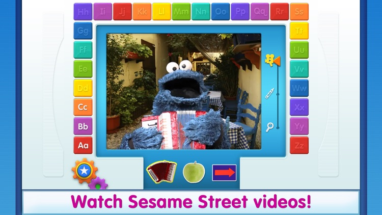Elmo Loves ABCs Lite screenshot-3