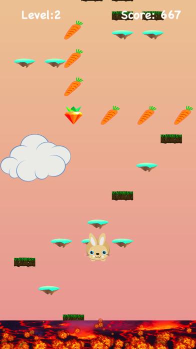 Lava Floor Escape: Jumpy Bunny 1