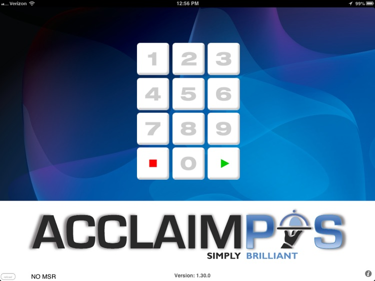 AcclaimPOS screenshot-0
