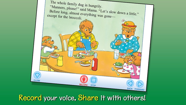 The Berenstain Bears Go Out to Eat screenshot-3