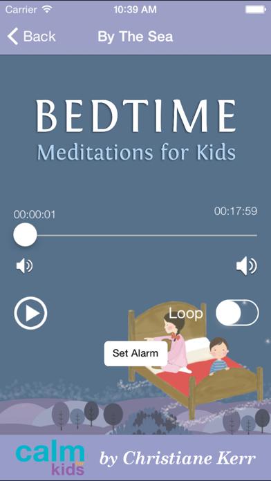 Bedtime Meditations For Kids by Christiane Kerr screenshot two