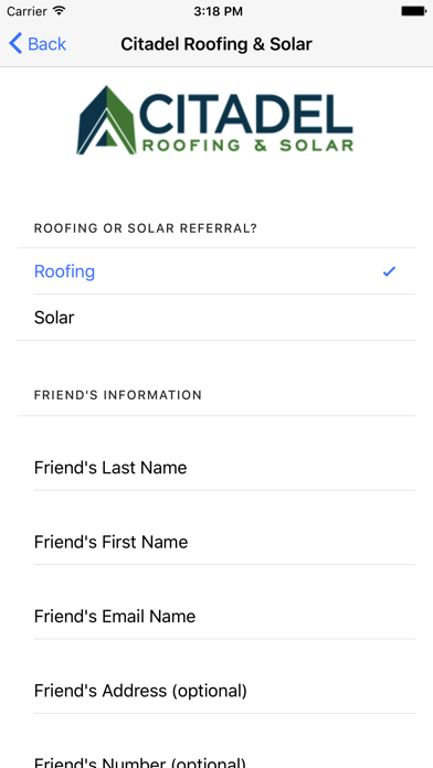 Citadel Roofing and Solar screenshot two