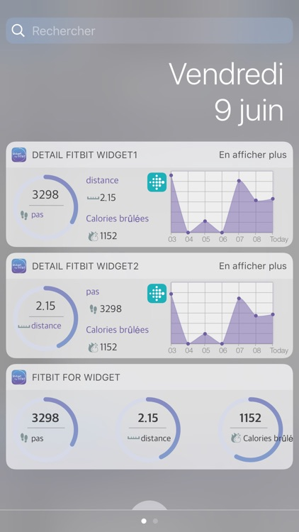 Widget For Fitbit screenshot-2