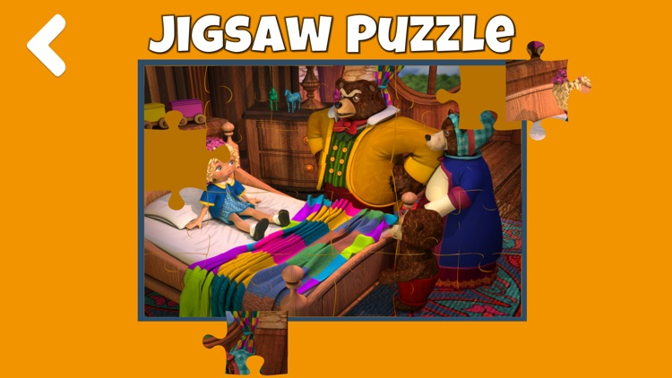 Goldilocks and the three bears - Book & Games screenshot-4