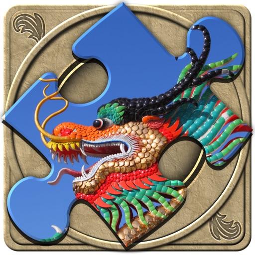 FlipPix Jigsaw - Dragons