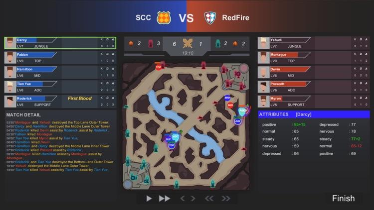 游戏电竞大亨-开罗模拟职业玩家经理 screenshot-4