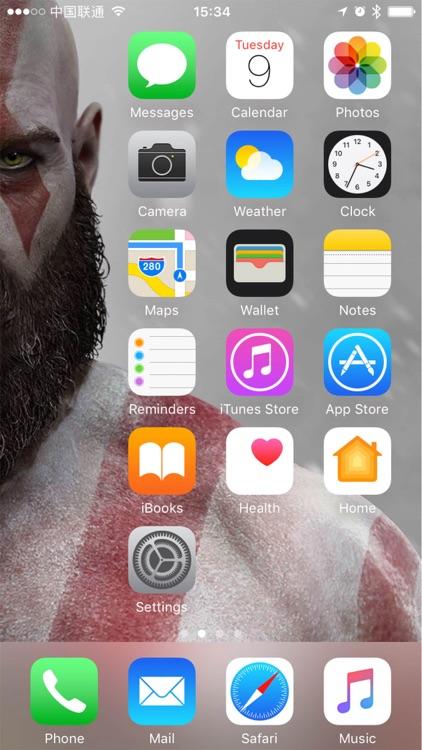 FaceDesktop - Arrange apps icon at home screen!