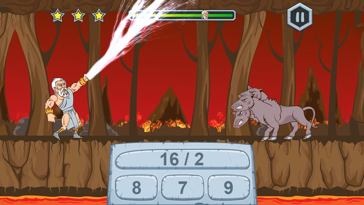 Zeus vs Monsters – School Edition: Fun Math Game