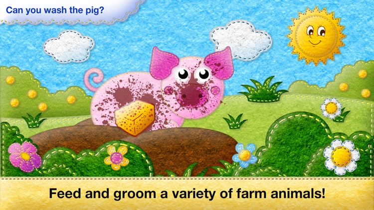 Toddler's Farm Animals sounds, Baby Animal Puzzles screenshot-3