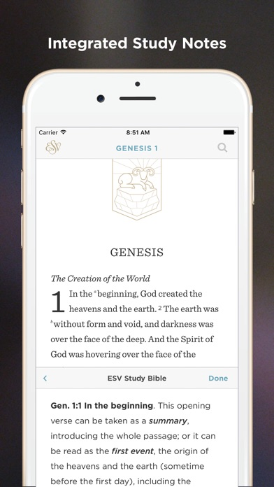 ESV Bible iPhone