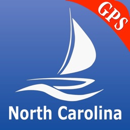 North Carolina nautical chart GPS tracker