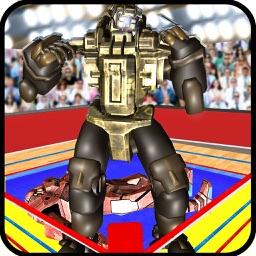 Boxing Robots Rage: Street Walking Fighter