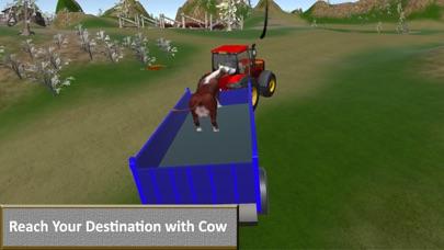 Off-Road Farm Tractor Transport screenshot one