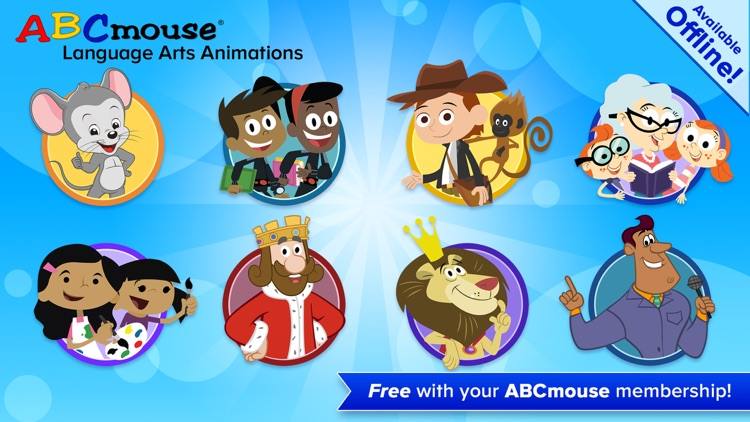 ABCmouse Language Arts Animations