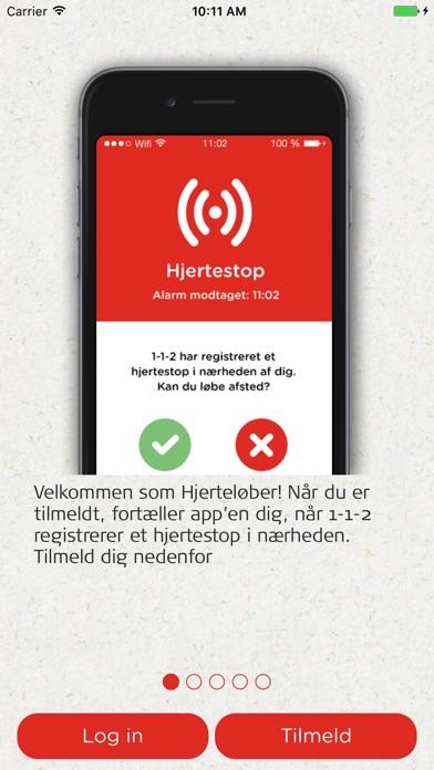 Screenshot for TrygFonden Hjerteløber in Denmark App Store