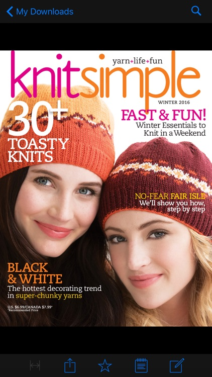 Knit Simple Magazine screenshot-2