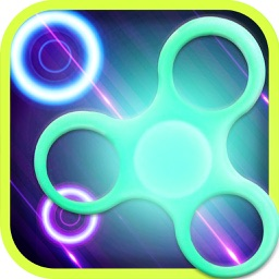 Fidget Spinner -  Tap to Bounce Simulator 2k17